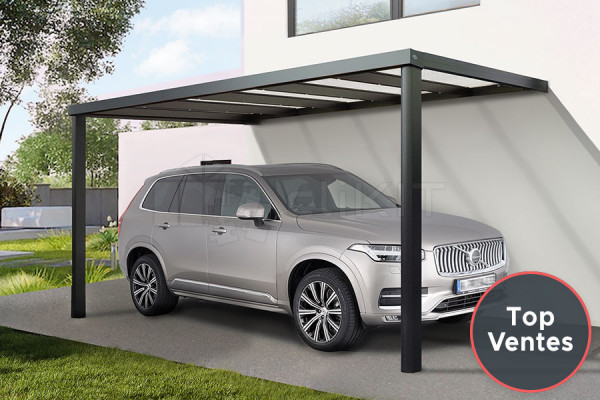 Photo n°1 du Carport Aluminium CLIMALUX