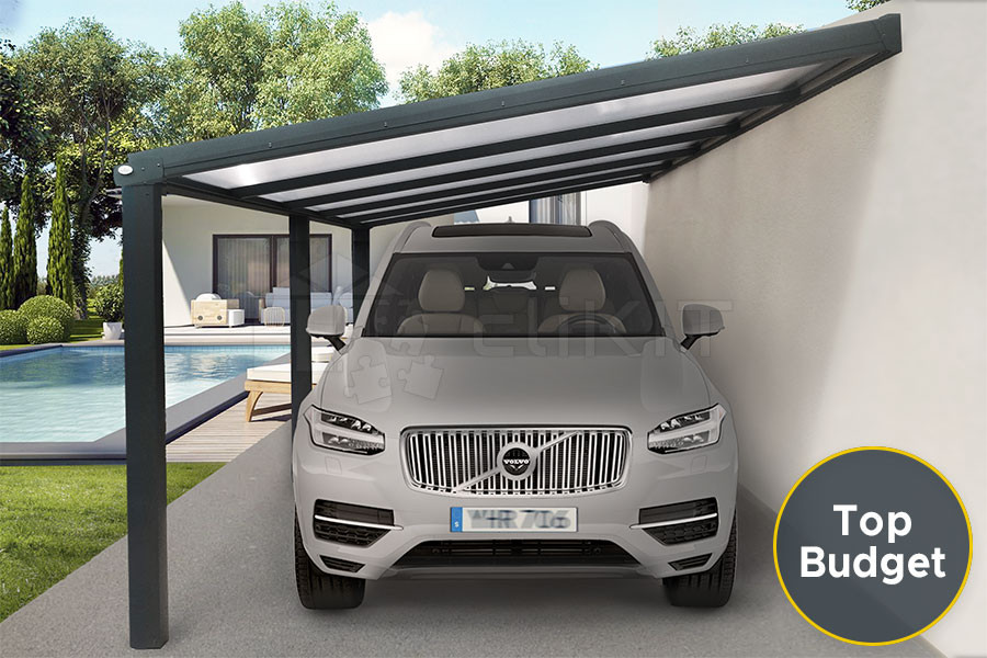 Photo n°1 du Carport Aluminium CLIMALITE