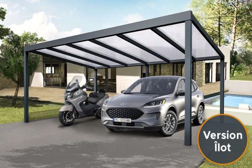 Photo n°1 du Carport Aluminium CLIMALUX Autoporté