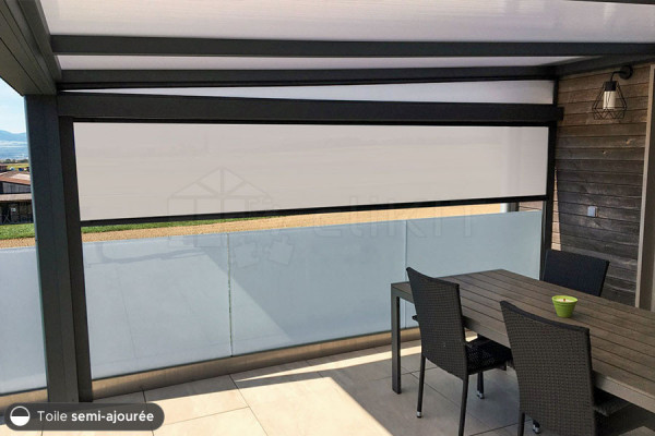 Photo n°4 du Store Screen Motorisé IMPERIAL ZIP 96