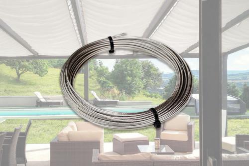 Photo n°1 du Câble Inox pour Voile d'Ombrage