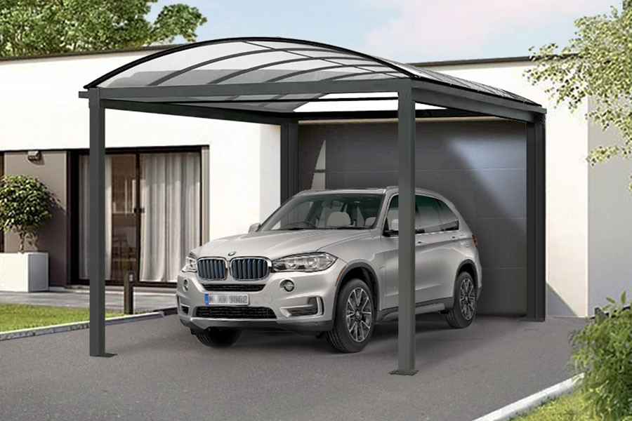 Photo n°1 du Carport Aluminium CLIMACAR