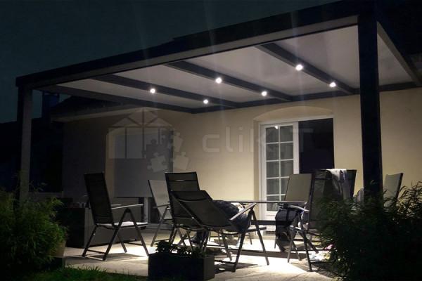 Photo n°3 Kit d'Éclairage Spots LED pour Pergola