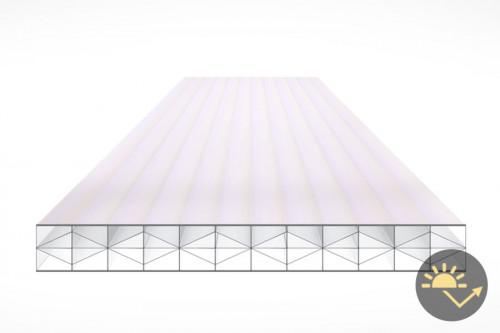Schéma de la Plaque Polycarbonate 16mm PRIMALITE Clair Anti-chaleur