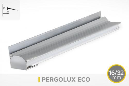 Photo n°1 du Pack Profil Latéral EL16/32.1 - PERGOLUX ECO