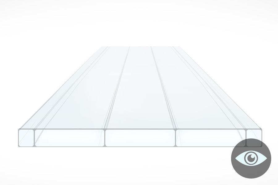 Schéma de la Plaque Acrylique PLEXIGLAS ALLTOP 16mm Translucide