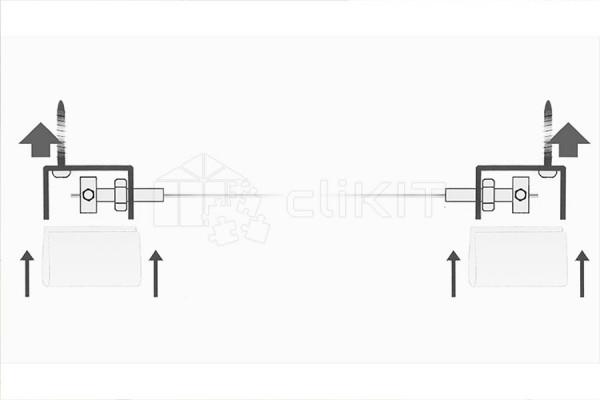 Schémas des Tendeurs de Câble pour Voile d'Ombrage