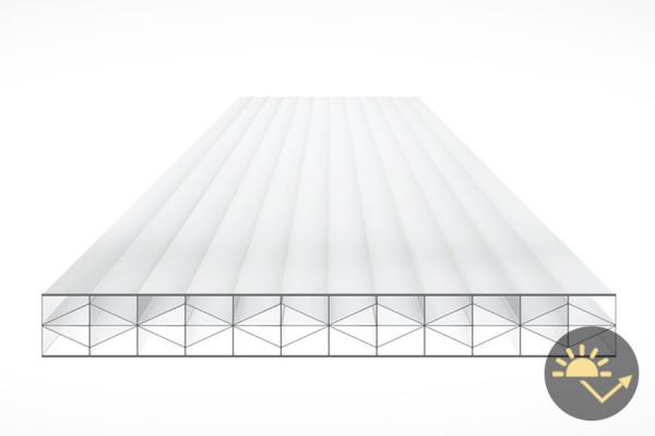 Schéma de la Plaque Polycarbonate 32mm REFLEX P. Opal Anti-chaleur