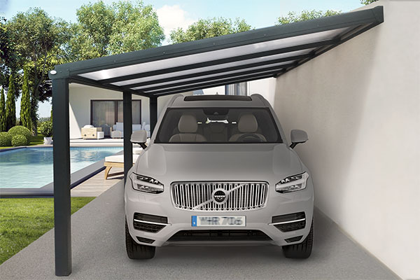 Photo du Carport Aluminium CLIMALITE