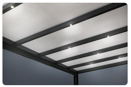 Photo du Bandeau de lumières LED pour Carport